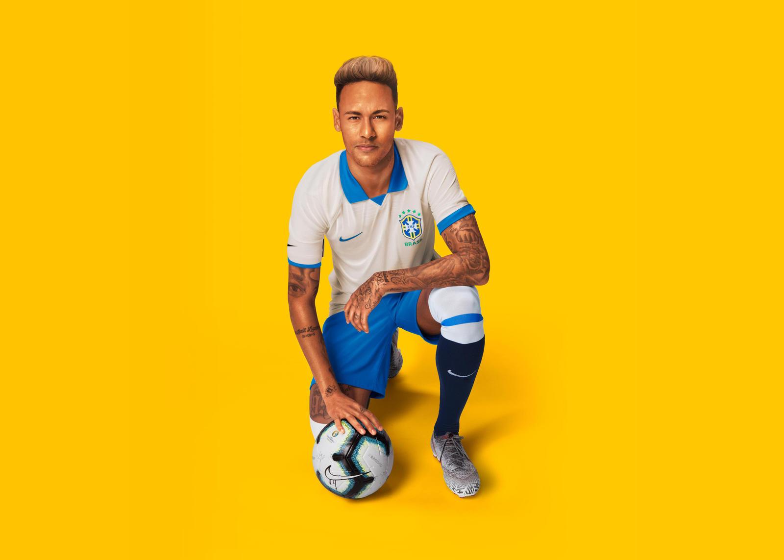 Nike 2019-20 Brasil Copa America 100th Anniversary Jersey Seleção Brasileira Collection 1
