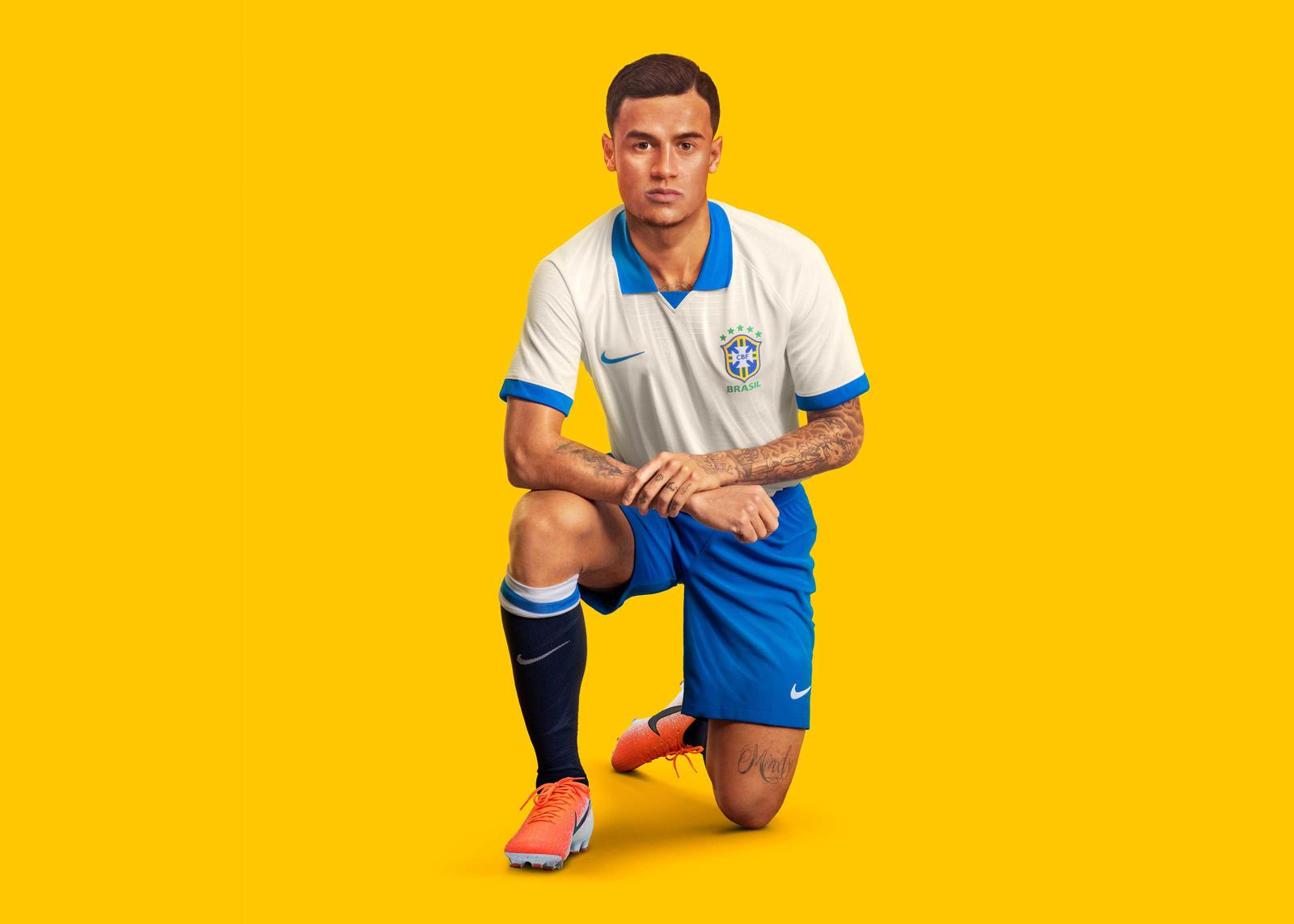Nike 2019-20 Brasil Copa America 100th Anniversary Jersey Seleção Brasileira Collection 2