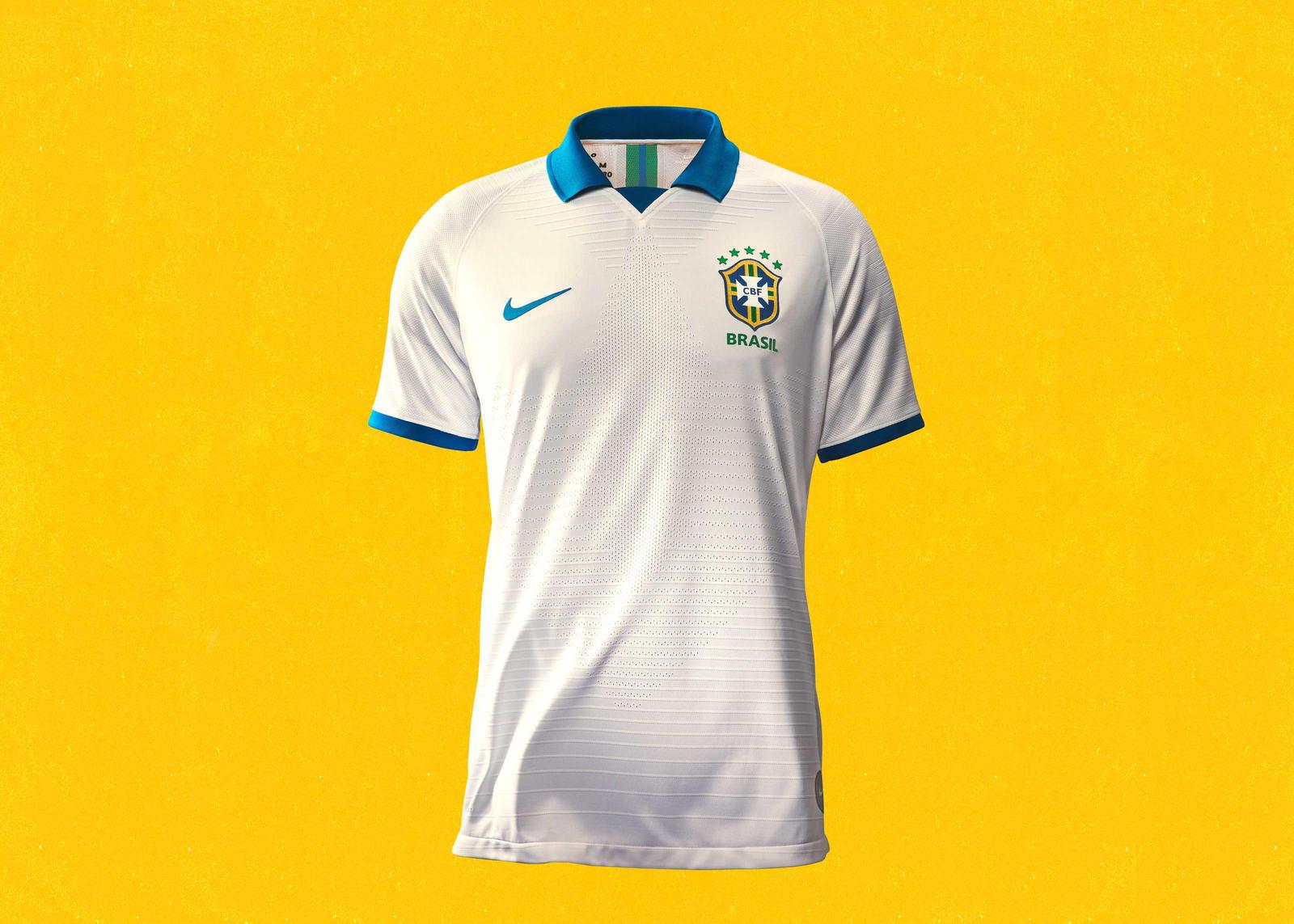 Nike 2019-20 Brasil Copa America 100th Anniversary Jersey Seleção Brasileira Collection 5