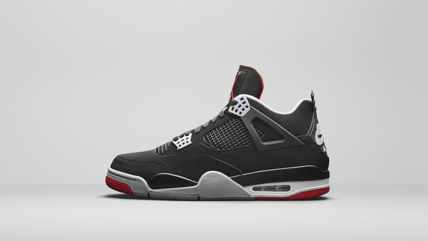 Air Jordan 4 Bred Official Images and