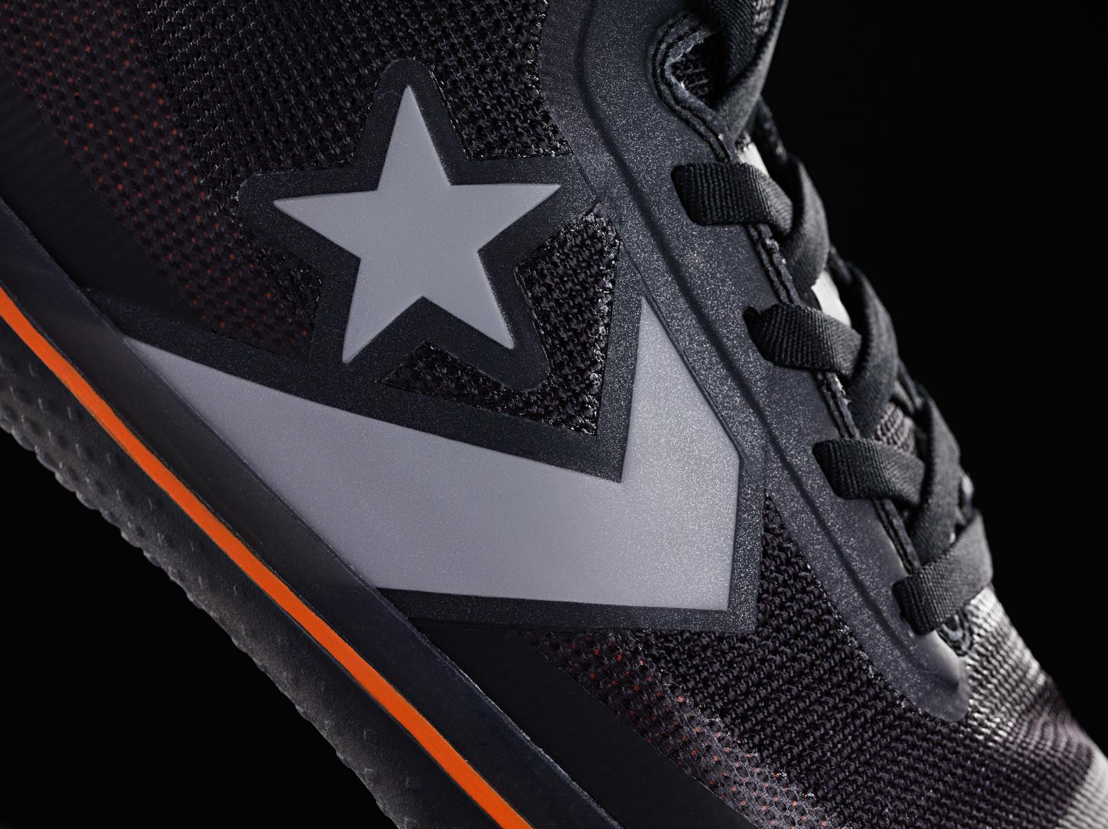 The Converse All Star Pro BB with Drop in Nike React midsole