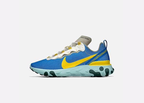 Nike By You React Element 55 19