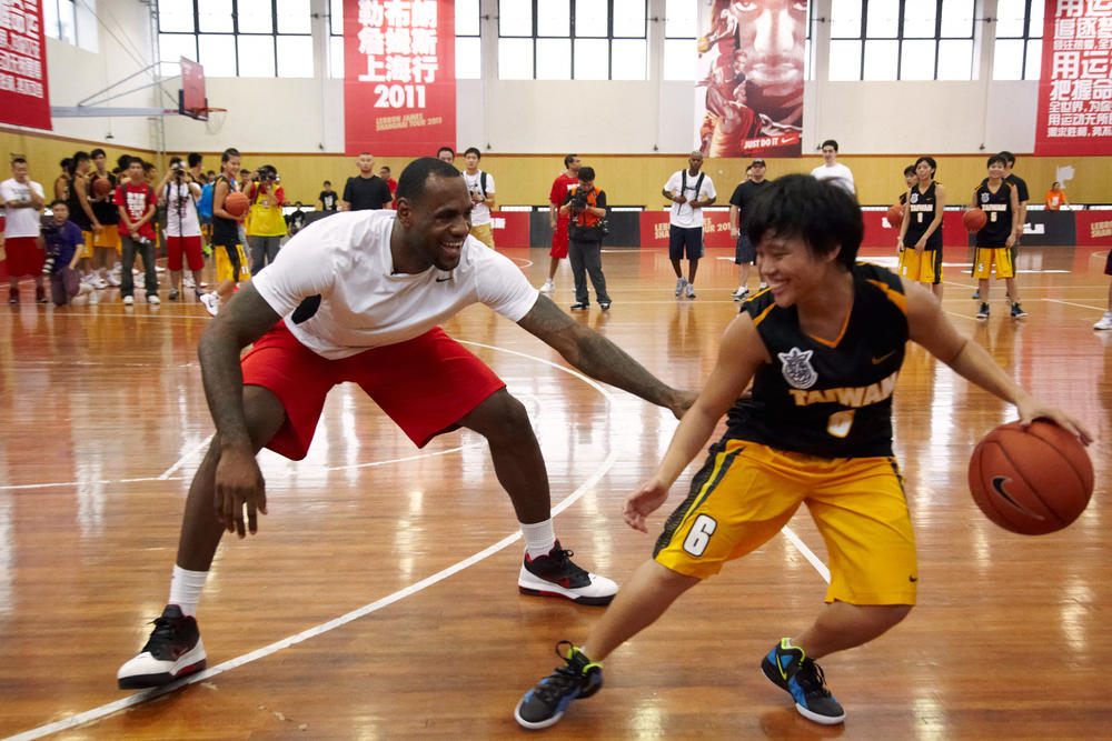 LeBron James Greater China Tour - Shanghai