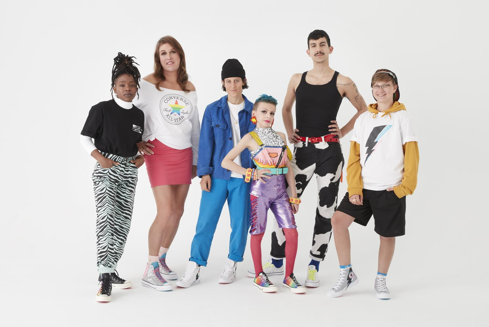 reputable site 77192 94808 5 Ways Converse Supports the LGBTQ+ Community. Converse Pride Collection  2019 10