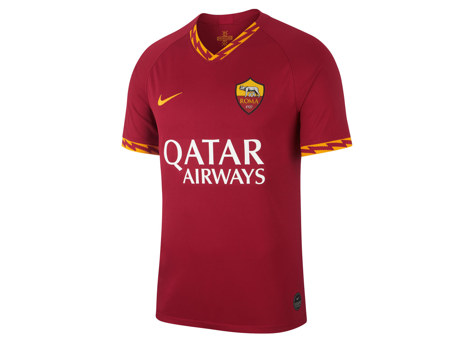 AS Roma 2019-20 Home Kit 0