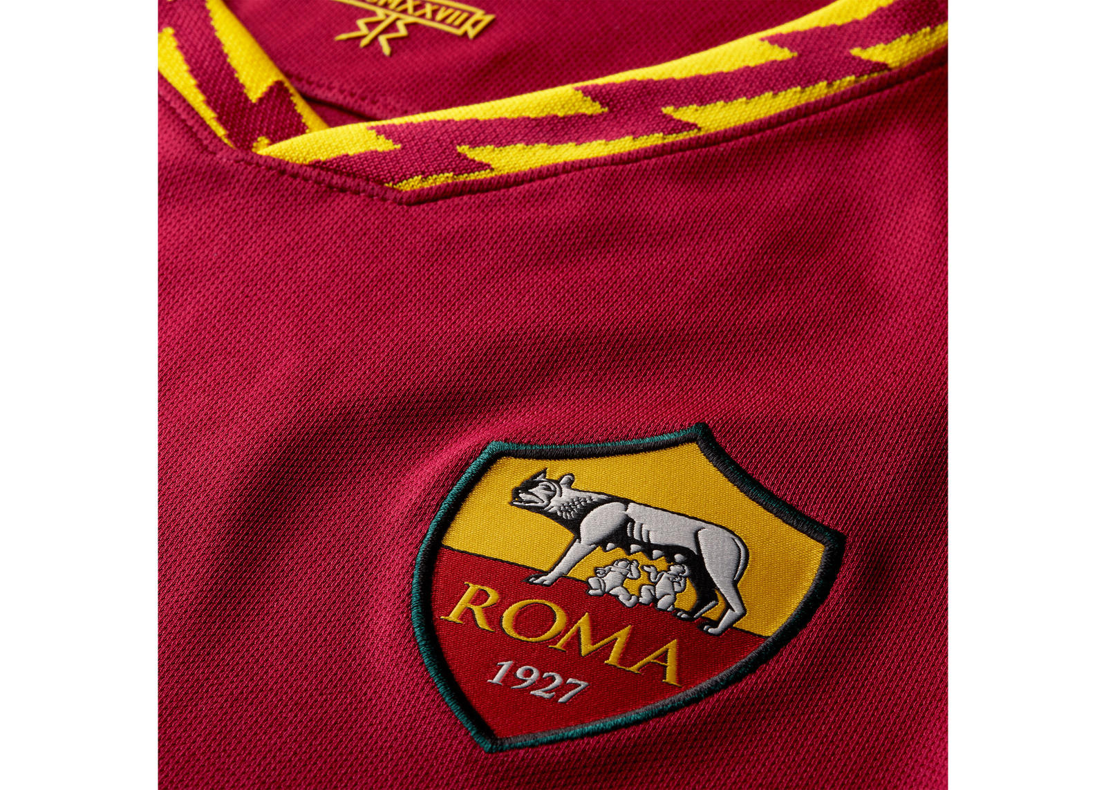 AS Roma 2019-20 Home Kit 1