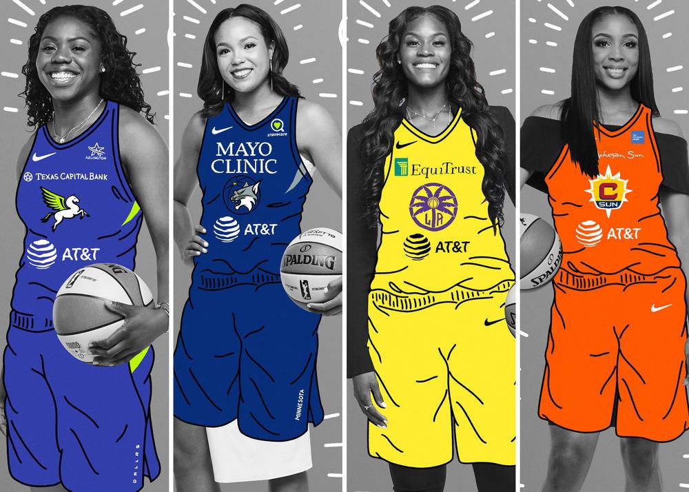 Introducing the Nike 2019 WNBA Rookies