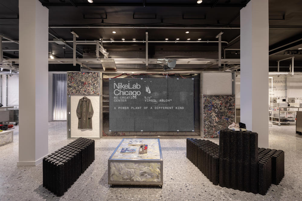 Inside the Virgil Abloh-Stewarded NikeLab Chicago Re-Creation Center
