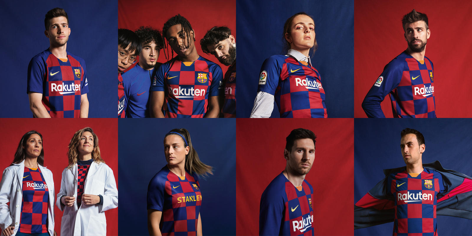 FC Barcelona 2019-20 Home Kit 0