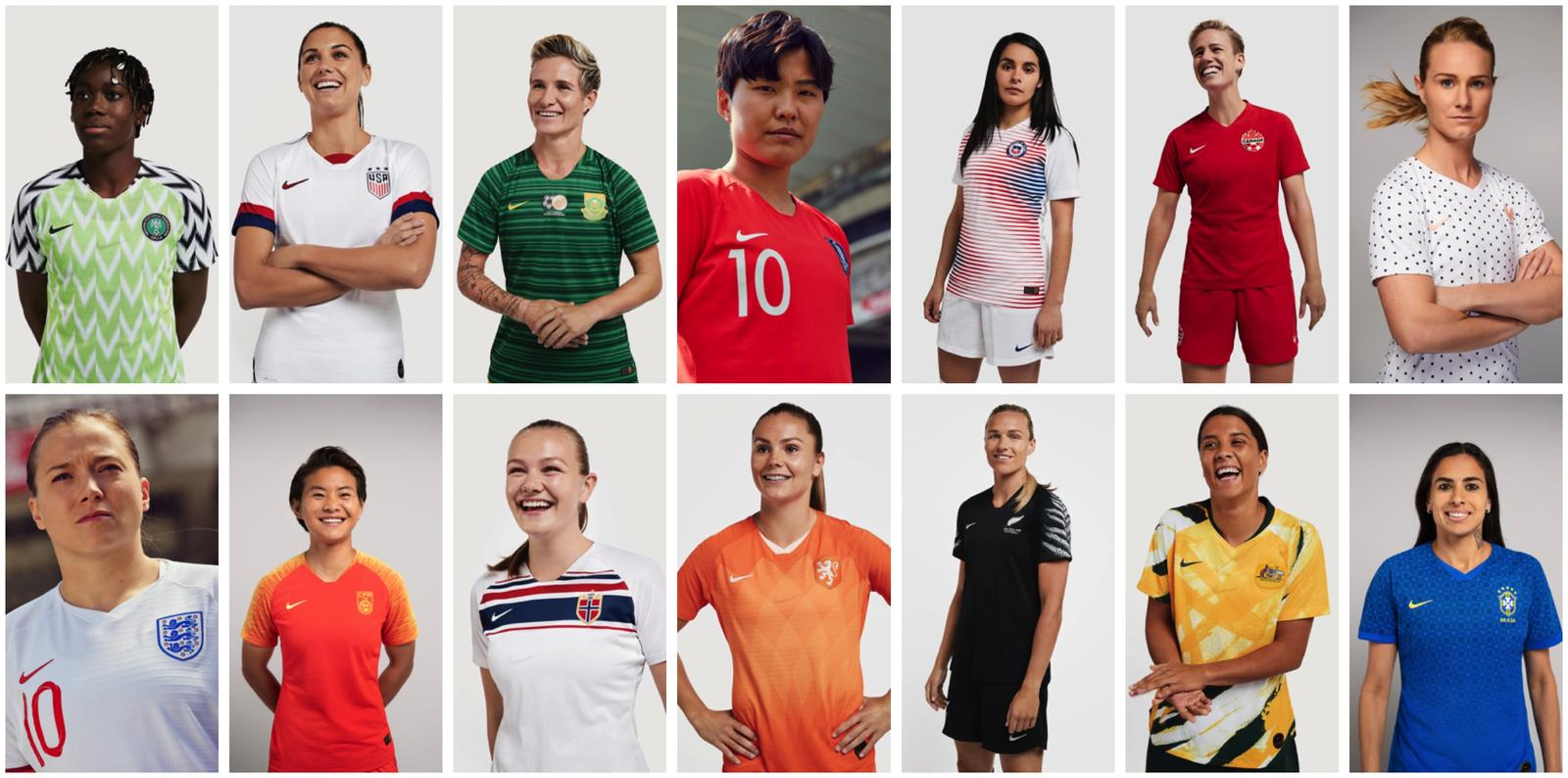 Nike Women's Football History Dream History 39