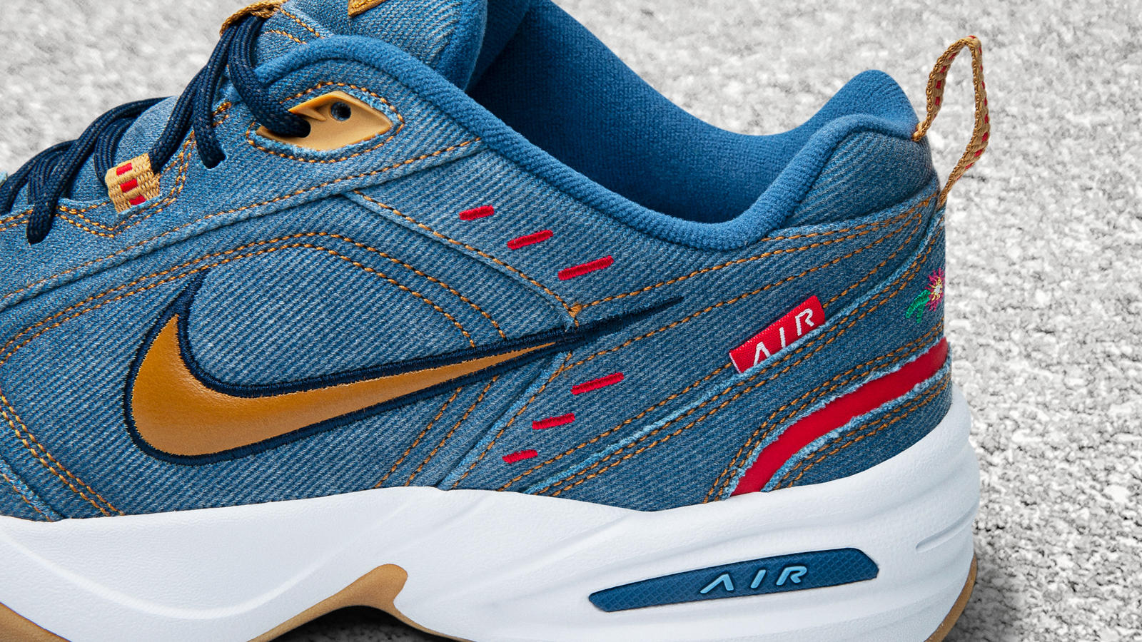 Nike Air Monarch 4 Denim Official Images and Release Date 1