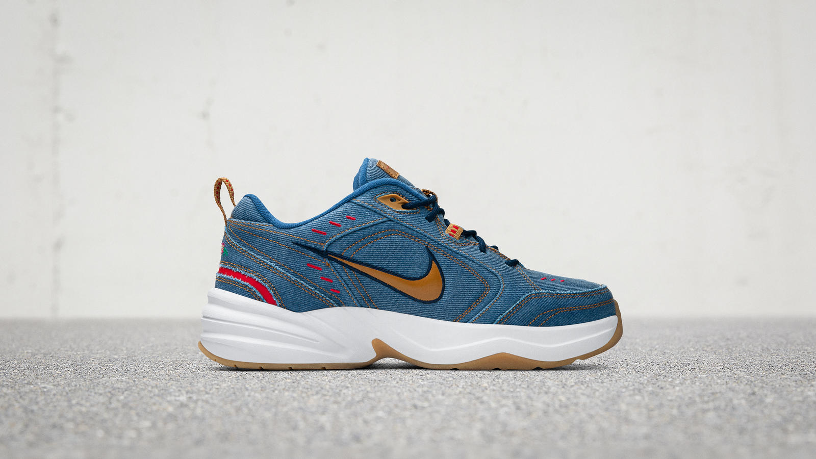 Nike Air Monarch 4 Denim Official Images and Release Date 4