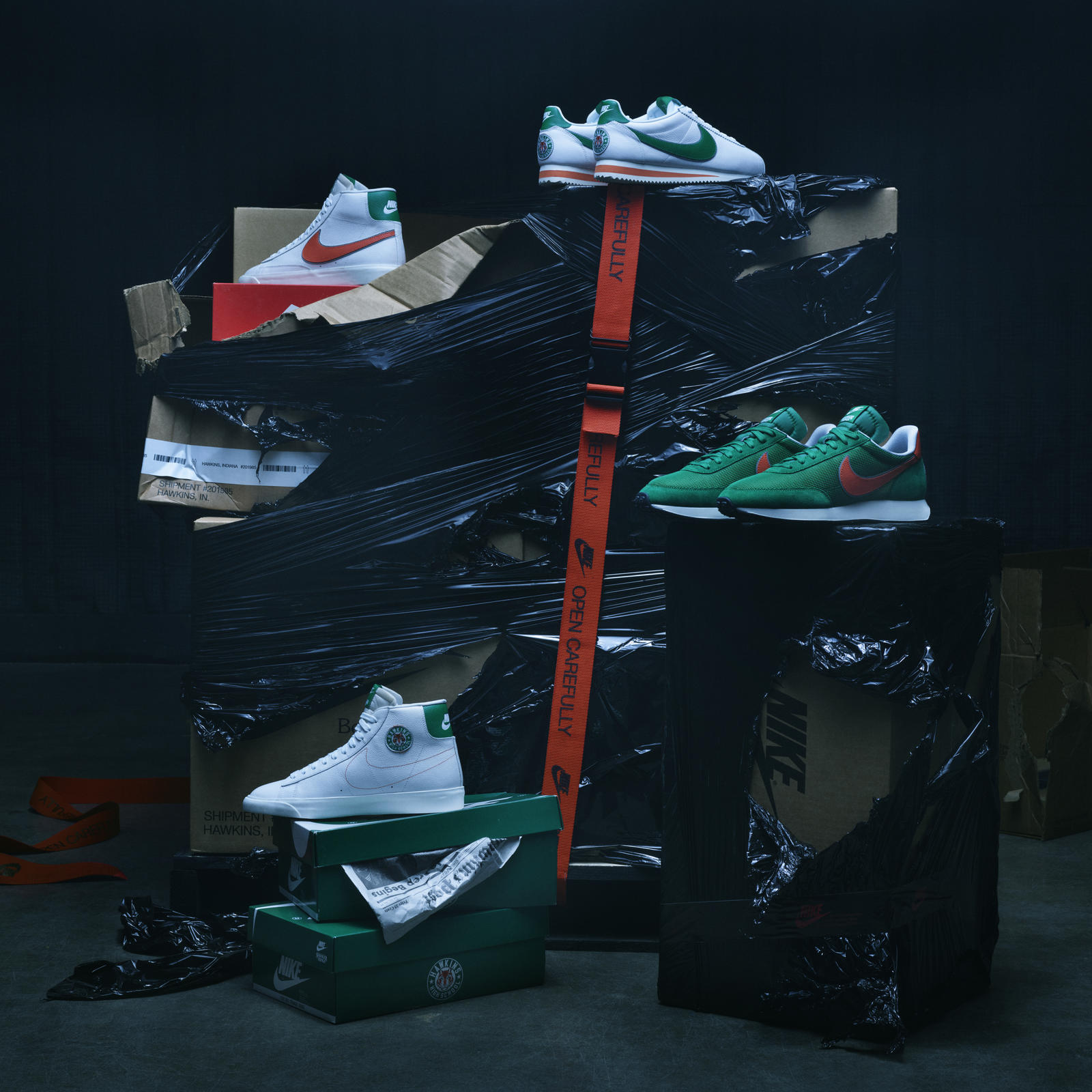 design de qualité 59997 4b9ba Nike Stranger Things Collection Official Images Release Date ...