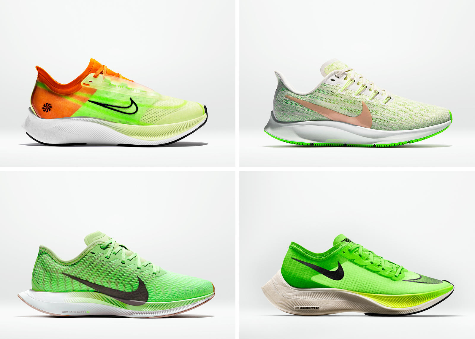 Nike Air Zoom Pegasus 36 Nike Zoom Pegasus Turbo 2 Nike ZoomX Vaporfly Next% Nike Zoom Fly 3  19