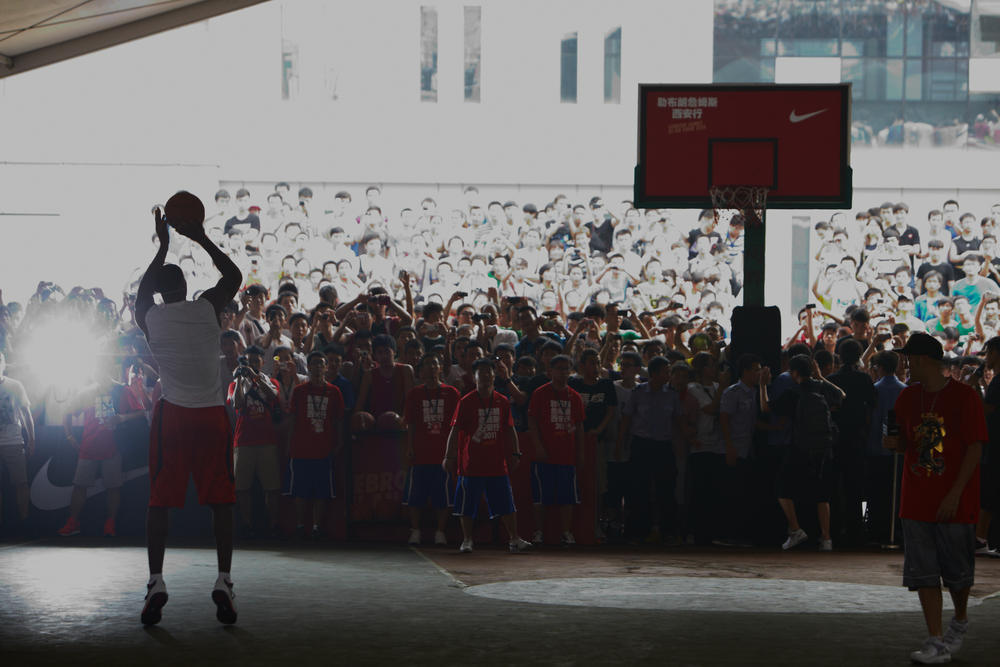 LeBron James Greater China Tour - Xi'an