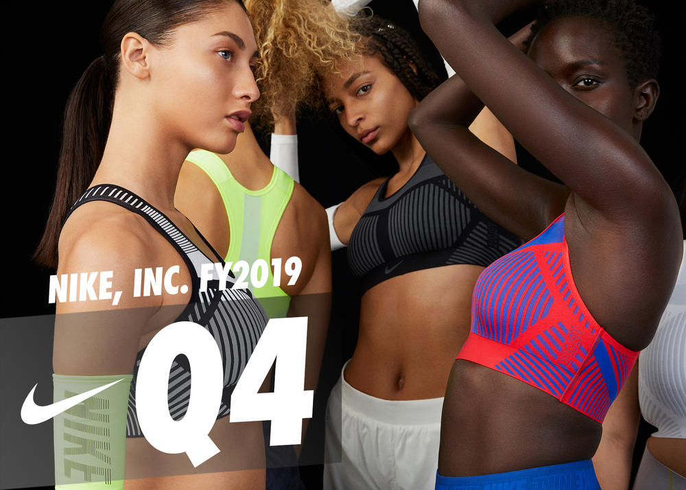 NIKE, Inc. Reports Fiscal 2019 Fourth Quarter and Full Year Results