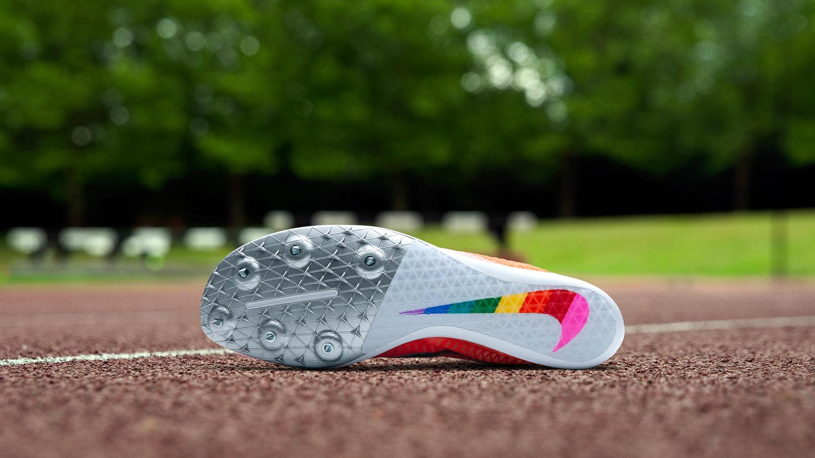 Caster Semenya Nike BETRUE Track Spike 3