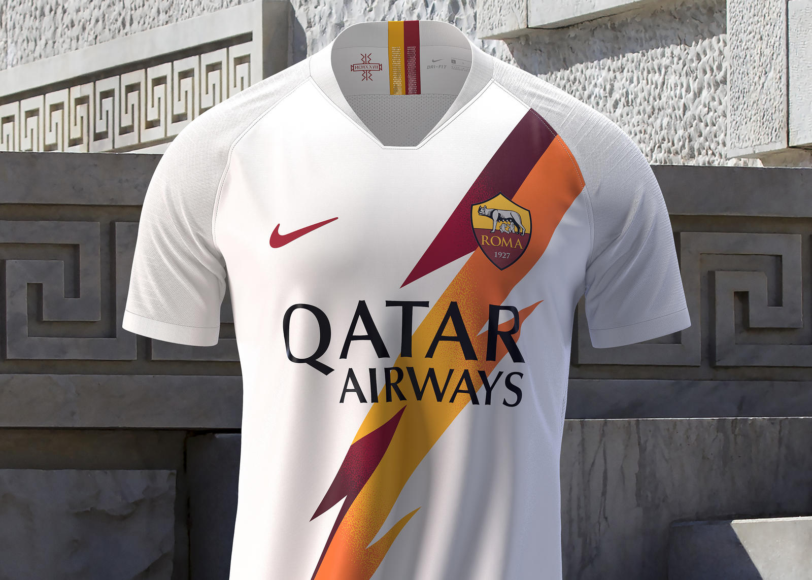 AS Roma 2019-20 Away Kit 0
