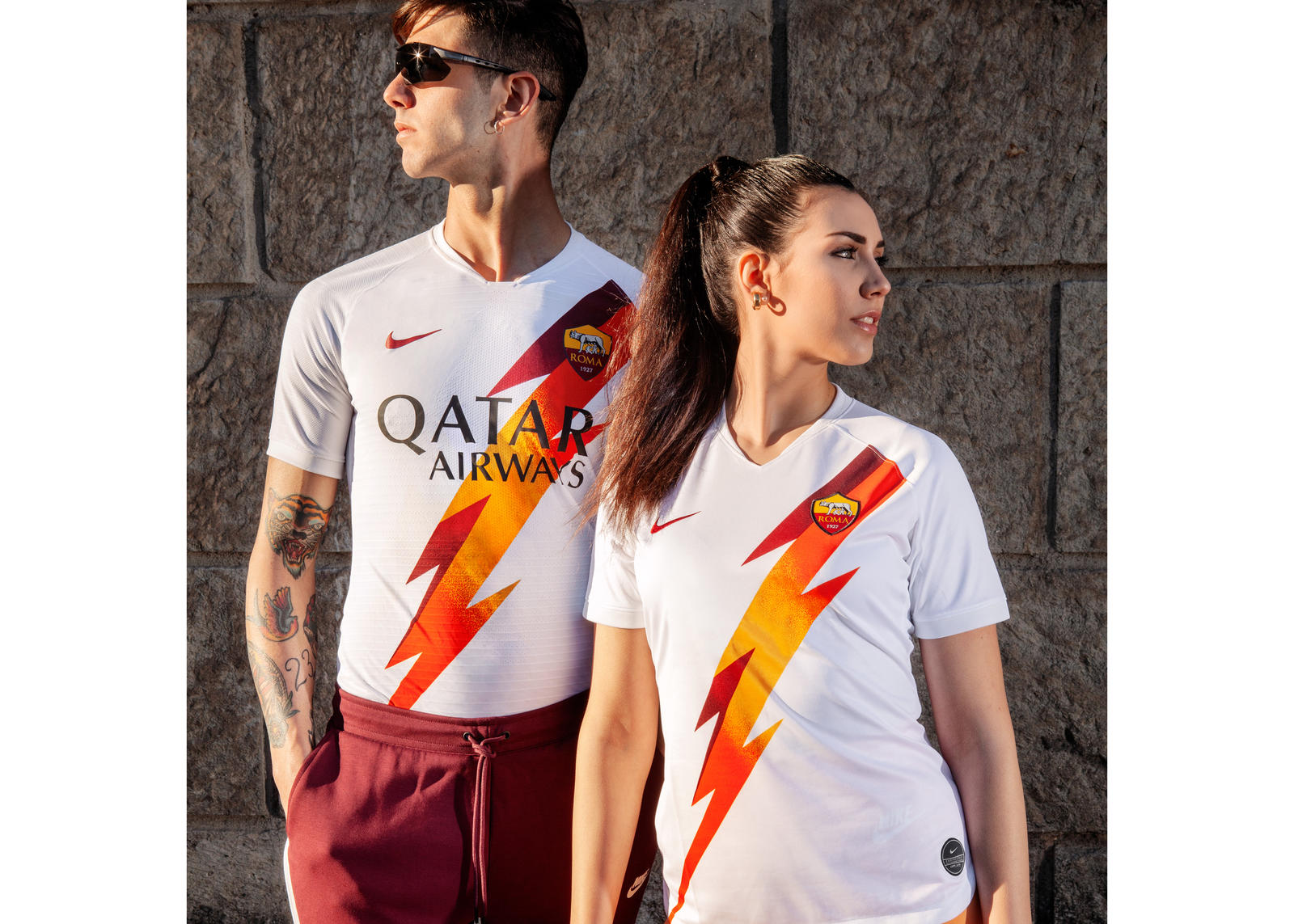 AS Roma 2019-20 Away Kit 2