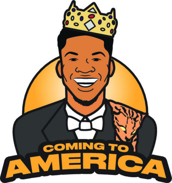 Giannis Coming to America 3