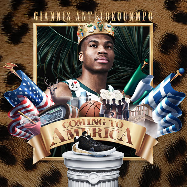 Giannis Coming to America 22
