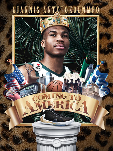 Giannis Coming to America 23
