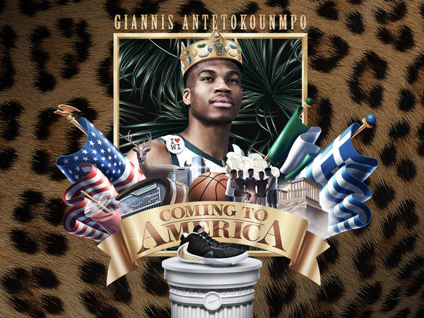 Giannis Coming to America 24