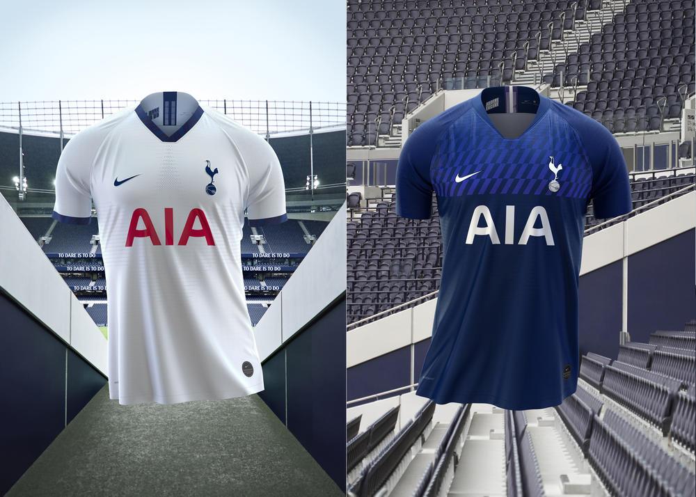 Tottenham Home and Away Kits 2019-20 3