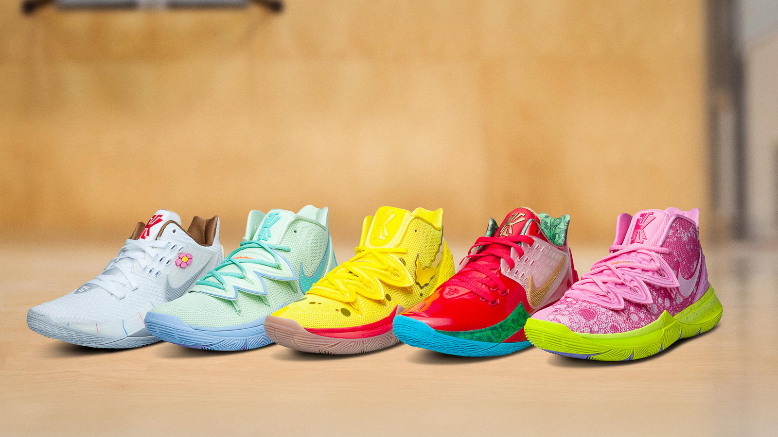 Nike KYRIE x SpongeBob SquarePants Collection , Nike News