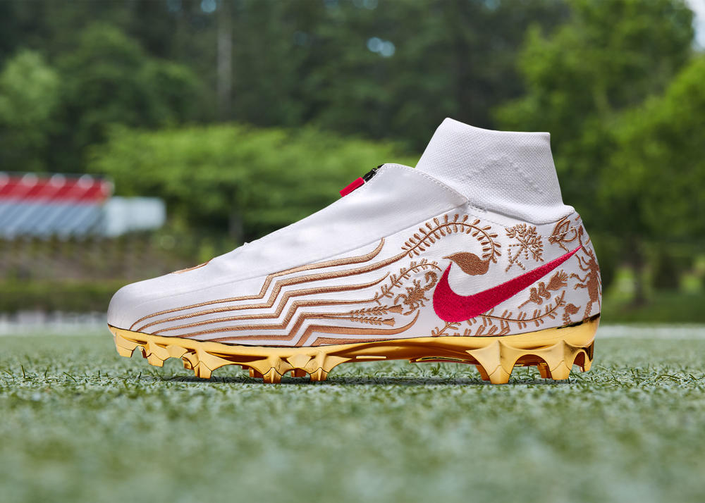 This Cleat Features the Route That Propelled OBJ to Fame