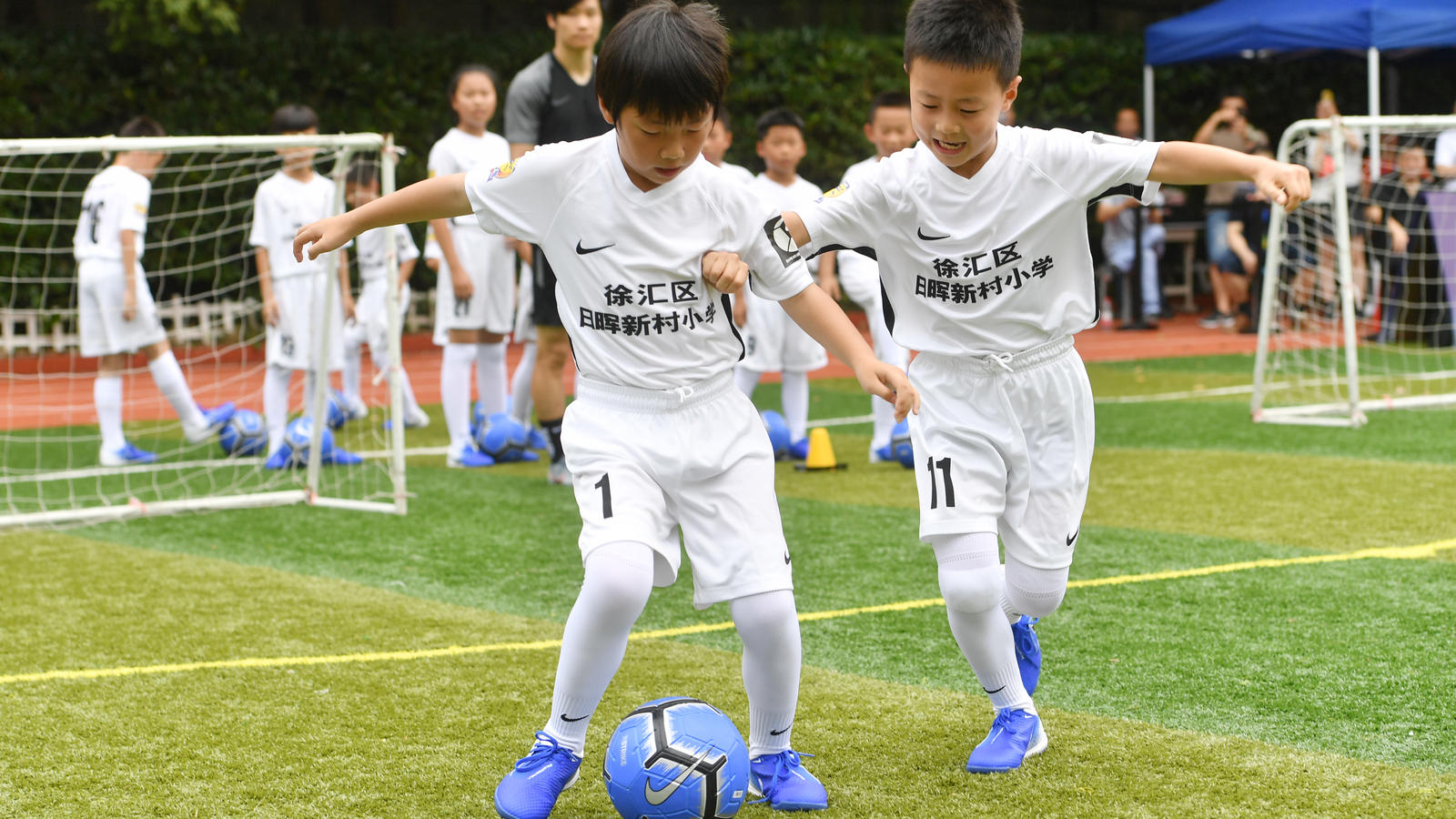 Nike and Tottenham Hotspur Shanghai Tour 2019 0
