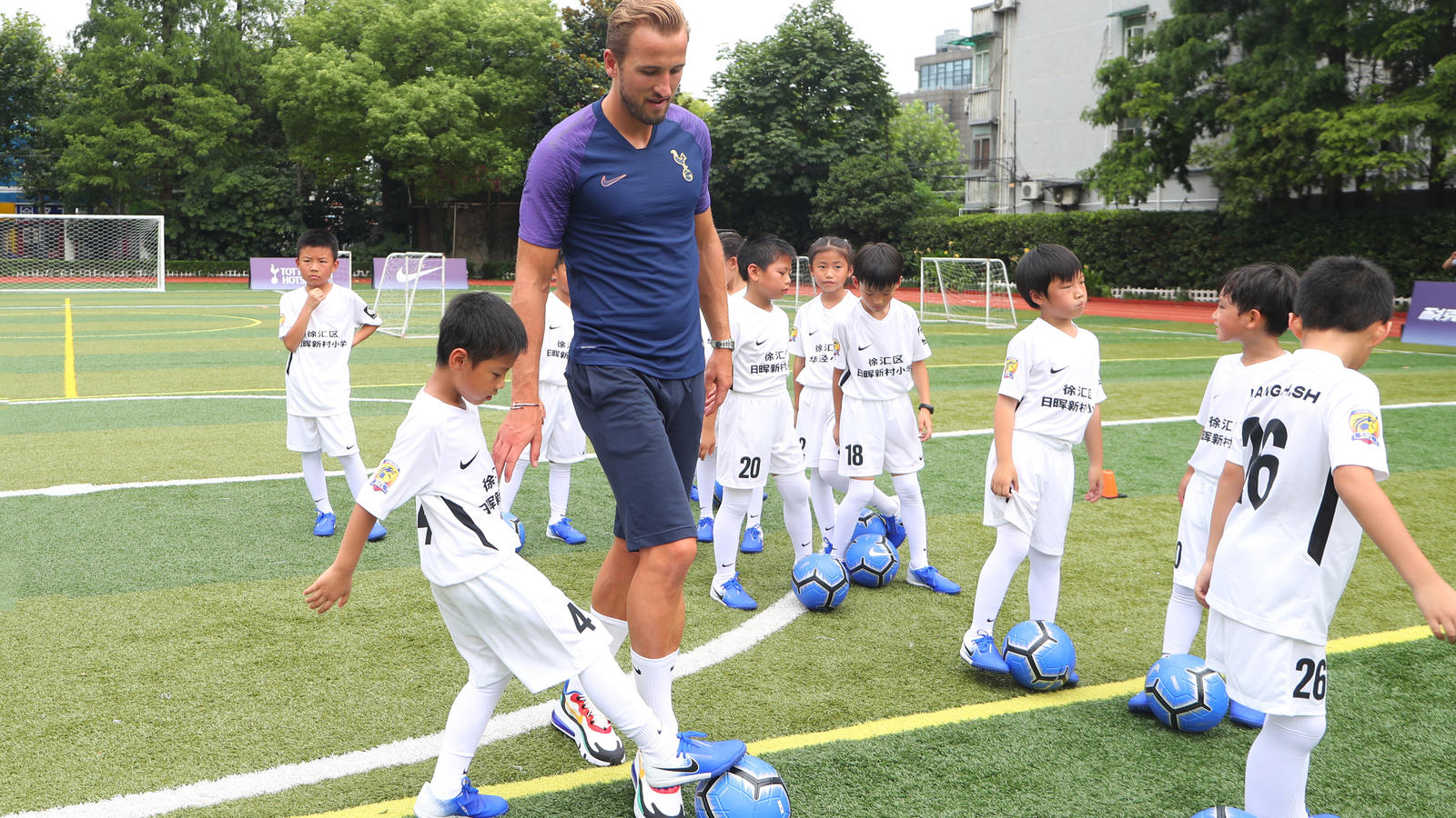 Nike and Tottenham Hotspur Shanghai Tour 2019 20