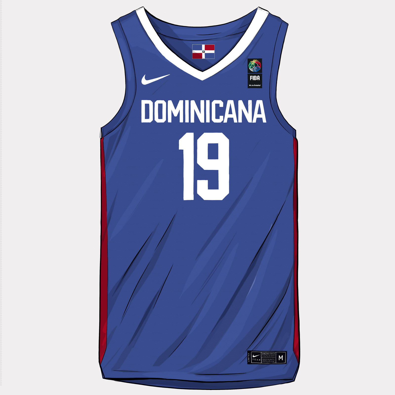 FIBA World Cup 2019 Uniforms 2