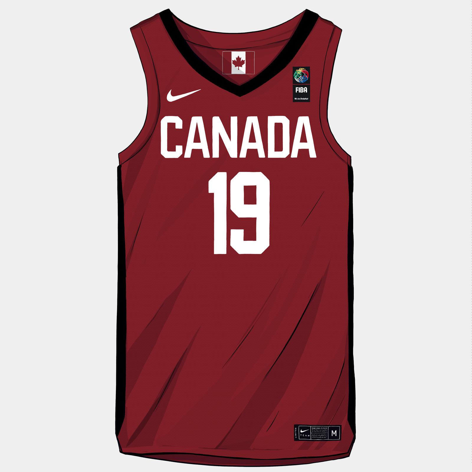 on sale 46eae e2d9c Nike and Jordan Brand Basketball Federation Uniforms FIBA ...