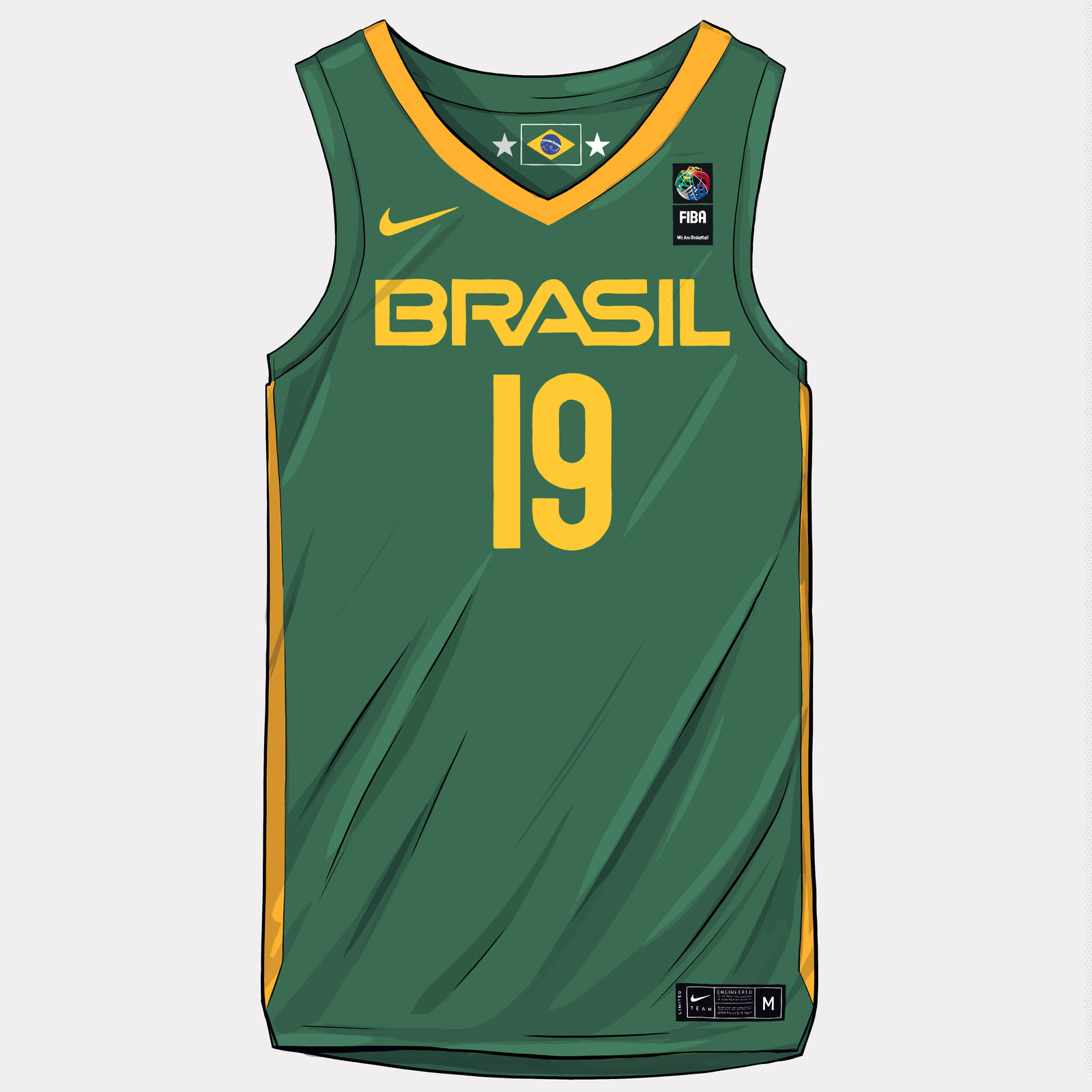 FIBA World Cup 2019 Uniforms 10