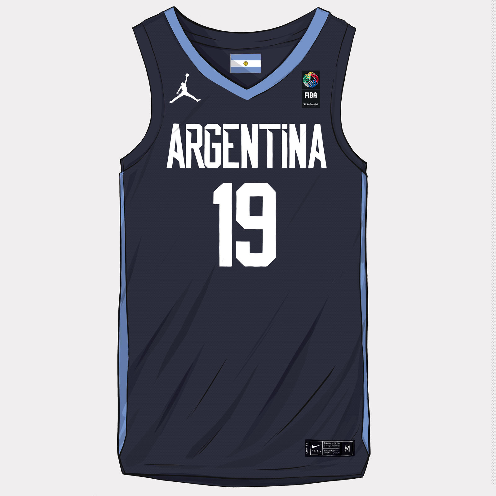 FIBA World Cup 2019 Uniforms 15