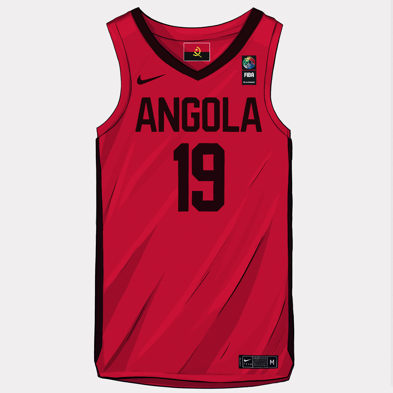 FIBA World Cup 2019 Uniforms 21