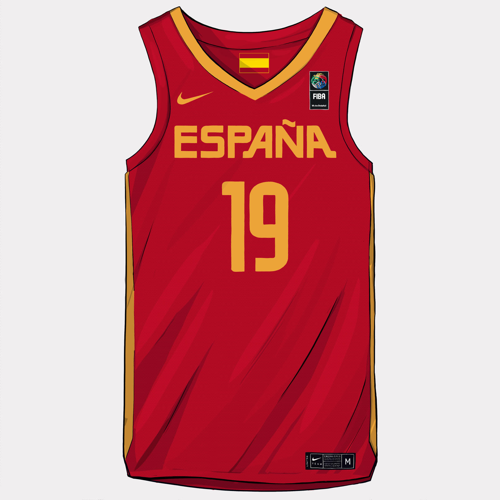 on sale f0dfc d577d Nike and Jordan Brand Basketball Federation Uniforms FIBA ...