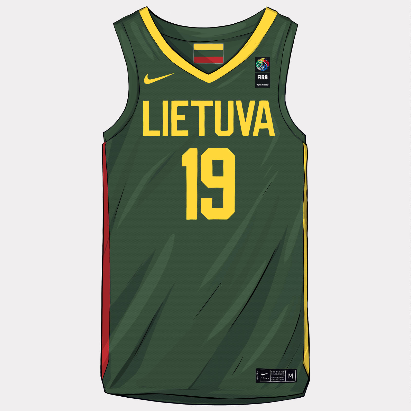 FIBA World Cup 2019 Uniforms 26