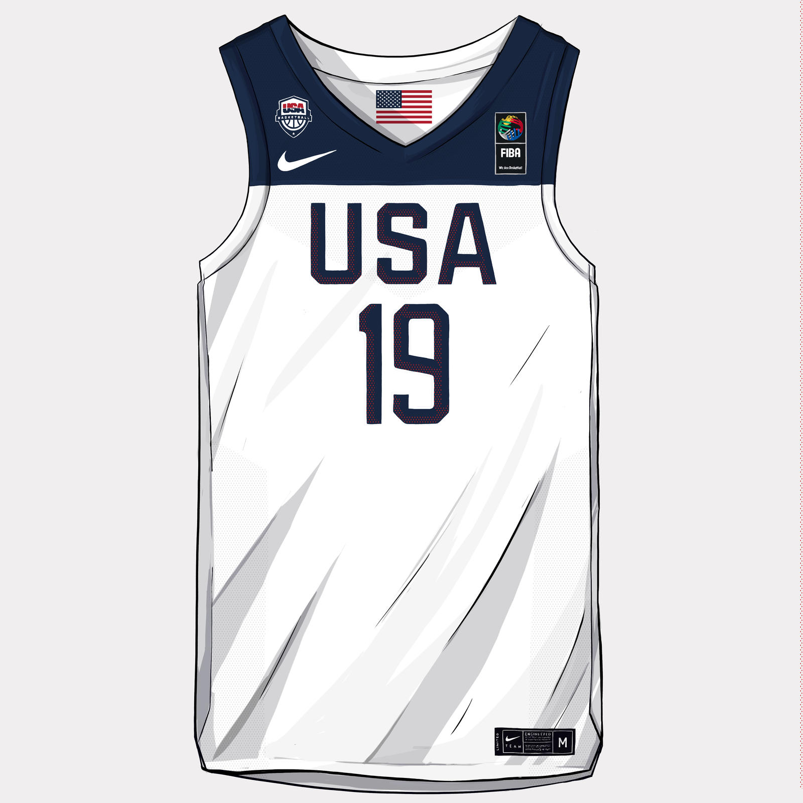 Nike and Jordan Brand Basketball Federation Uniforms FIBA ...