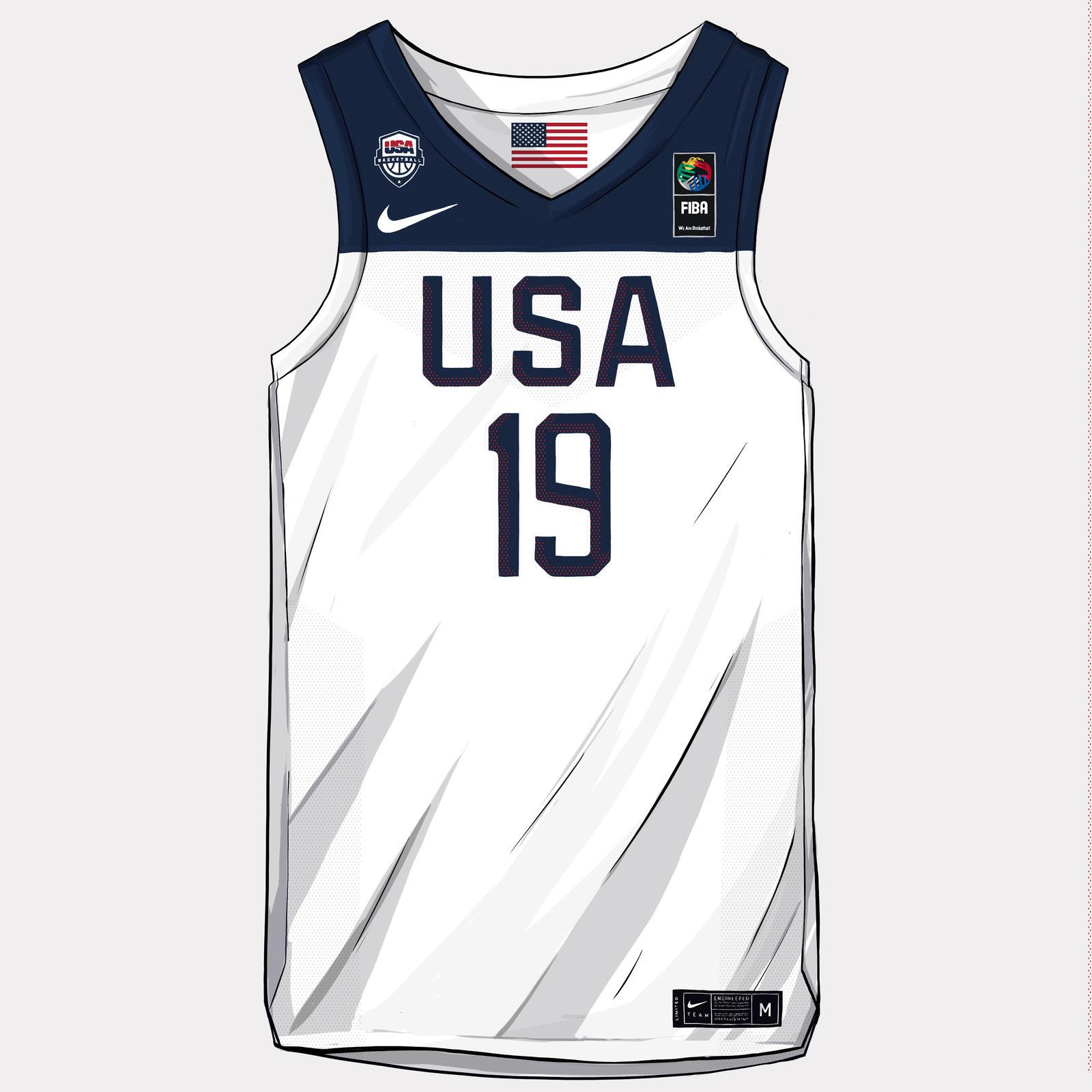 Nike and Jordan Brand Basketball Federation Uniforms China 2019