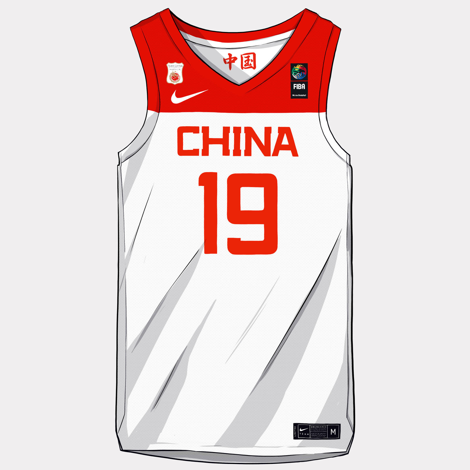 FIBA World Cup 2019 Nike and Jordan Brand Uniforms 38