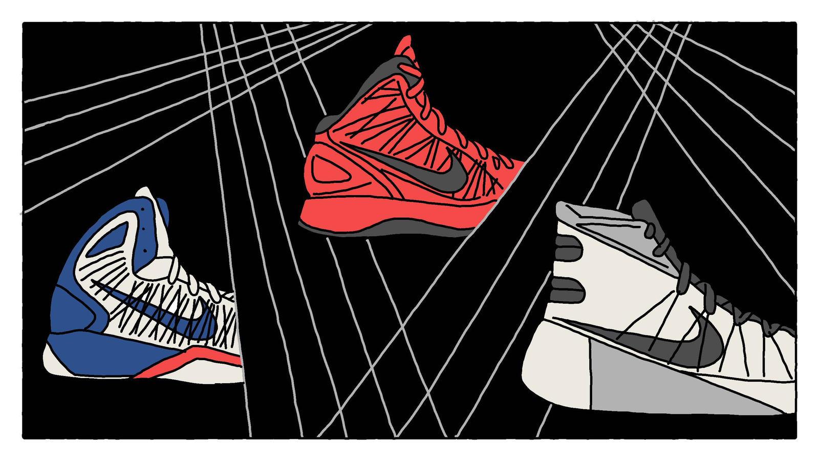 pretty nice a44ae e4867 Nike Hyperdunk Visual History - Nike News