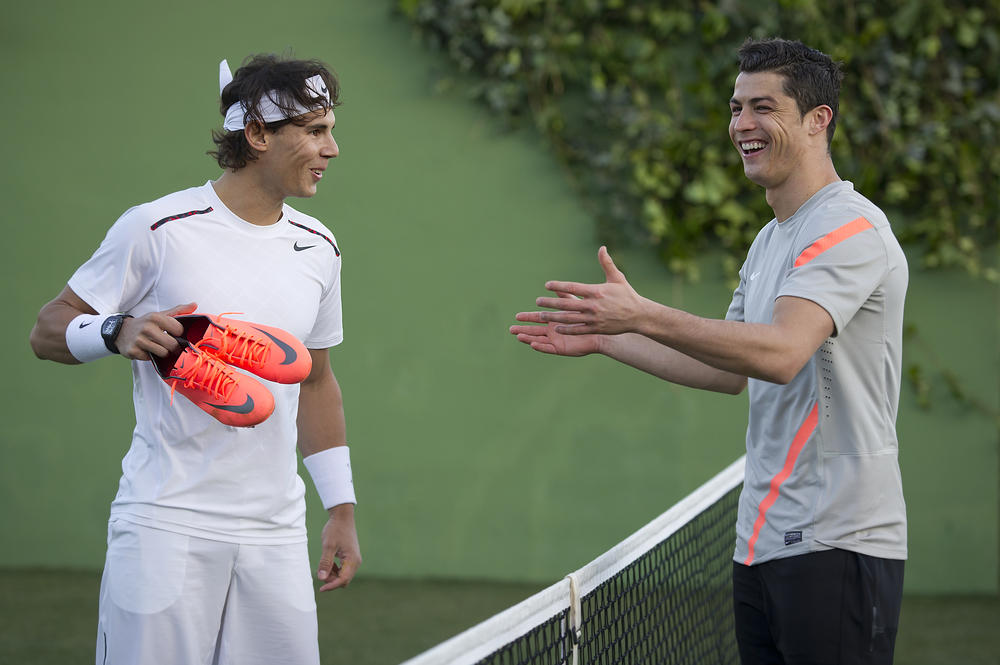 Cristiano Ronaldo Faces off Against Rafael Nadal in New Film from Nike Football