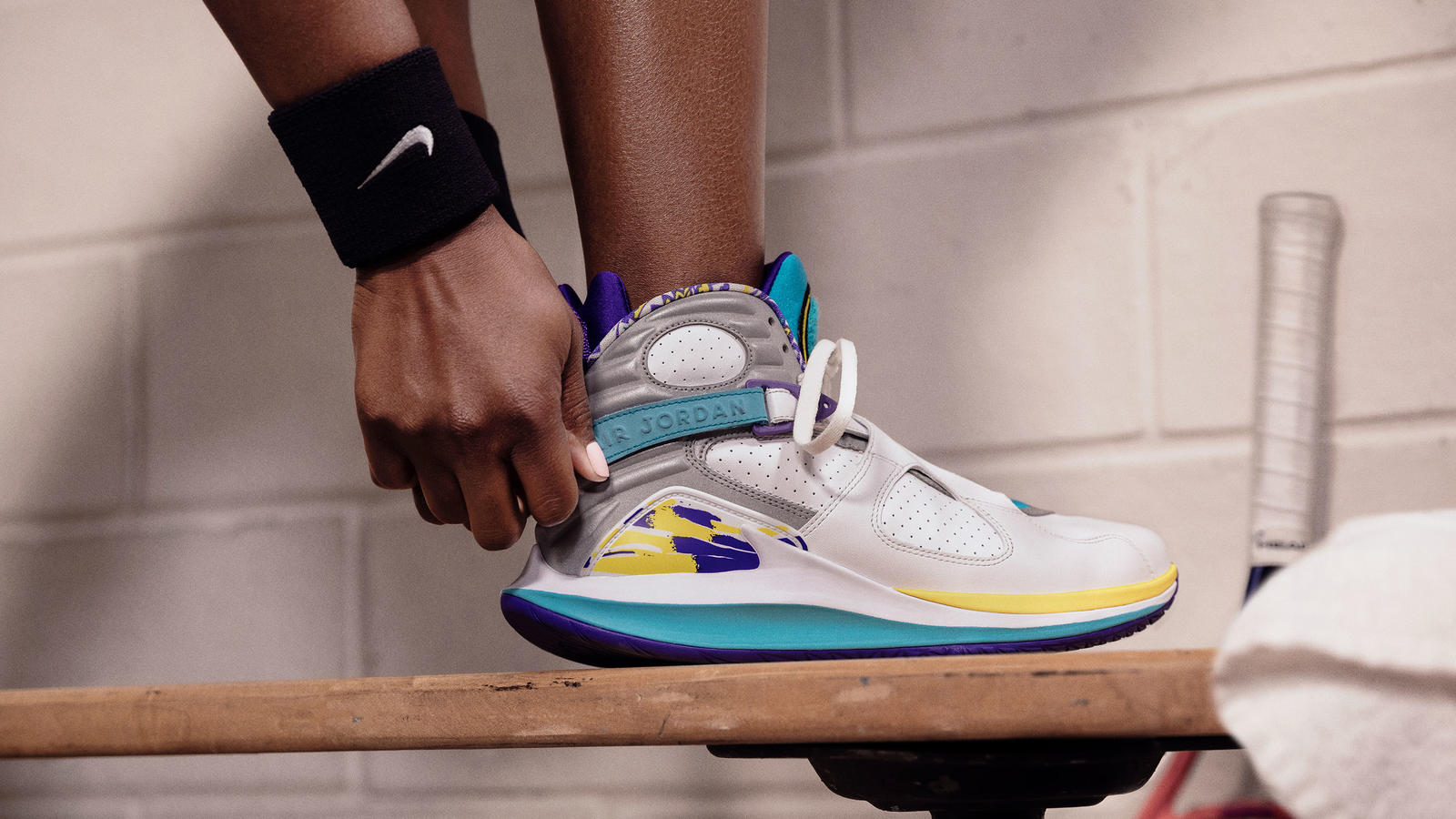 NikeCourt Air Zoom Zero x Air Jordan 8 Aqua Official Images and Release Date 0