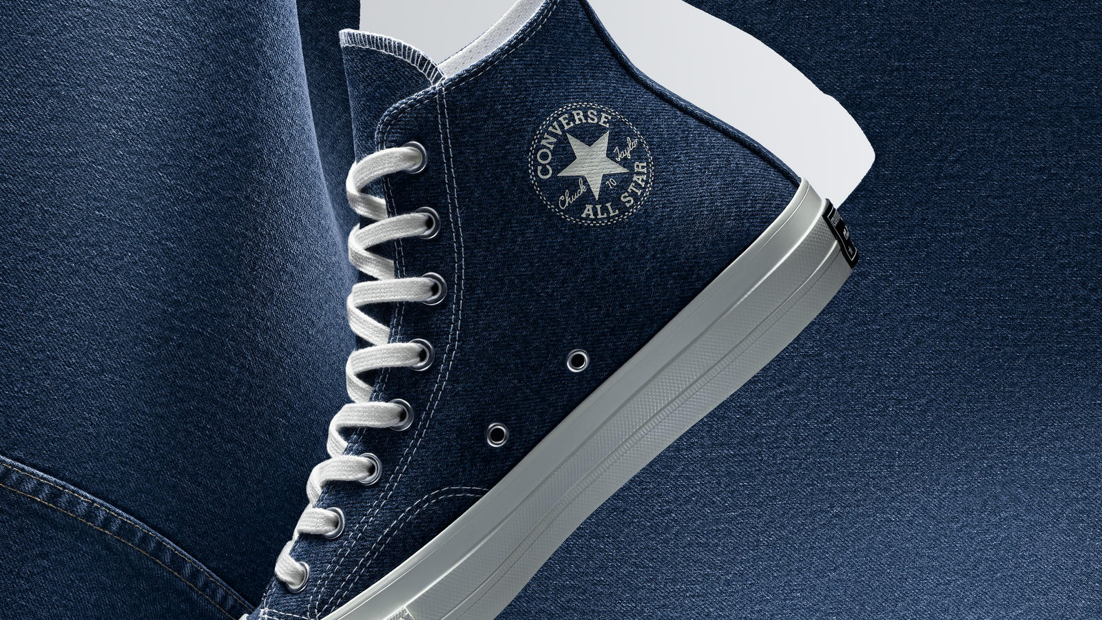 Converse Shows Denim Evolution With This Pair of 70s Chuck