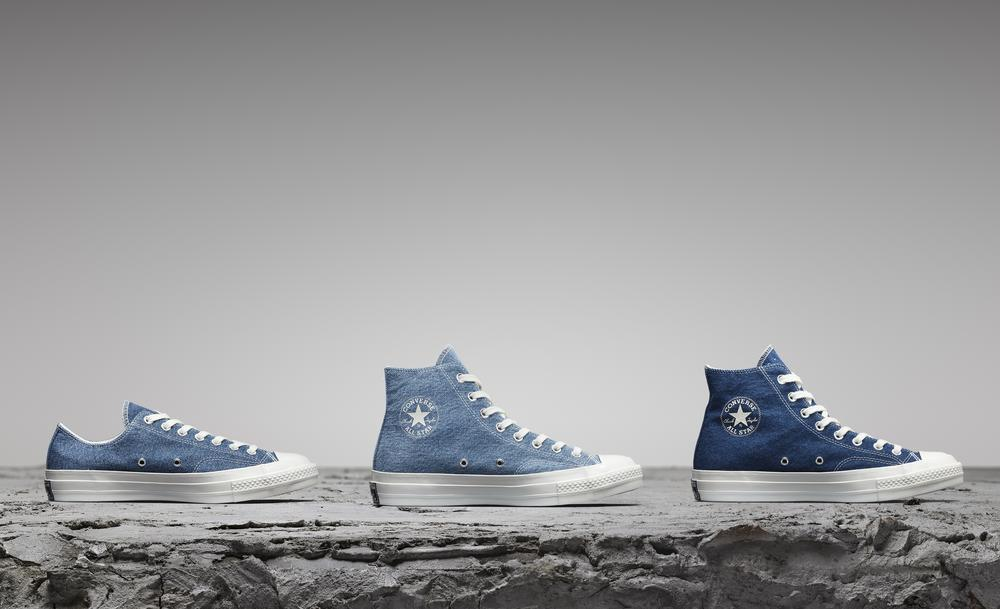 This New Converse Collection Will Remind You of Your Favorite Pair of Jeans