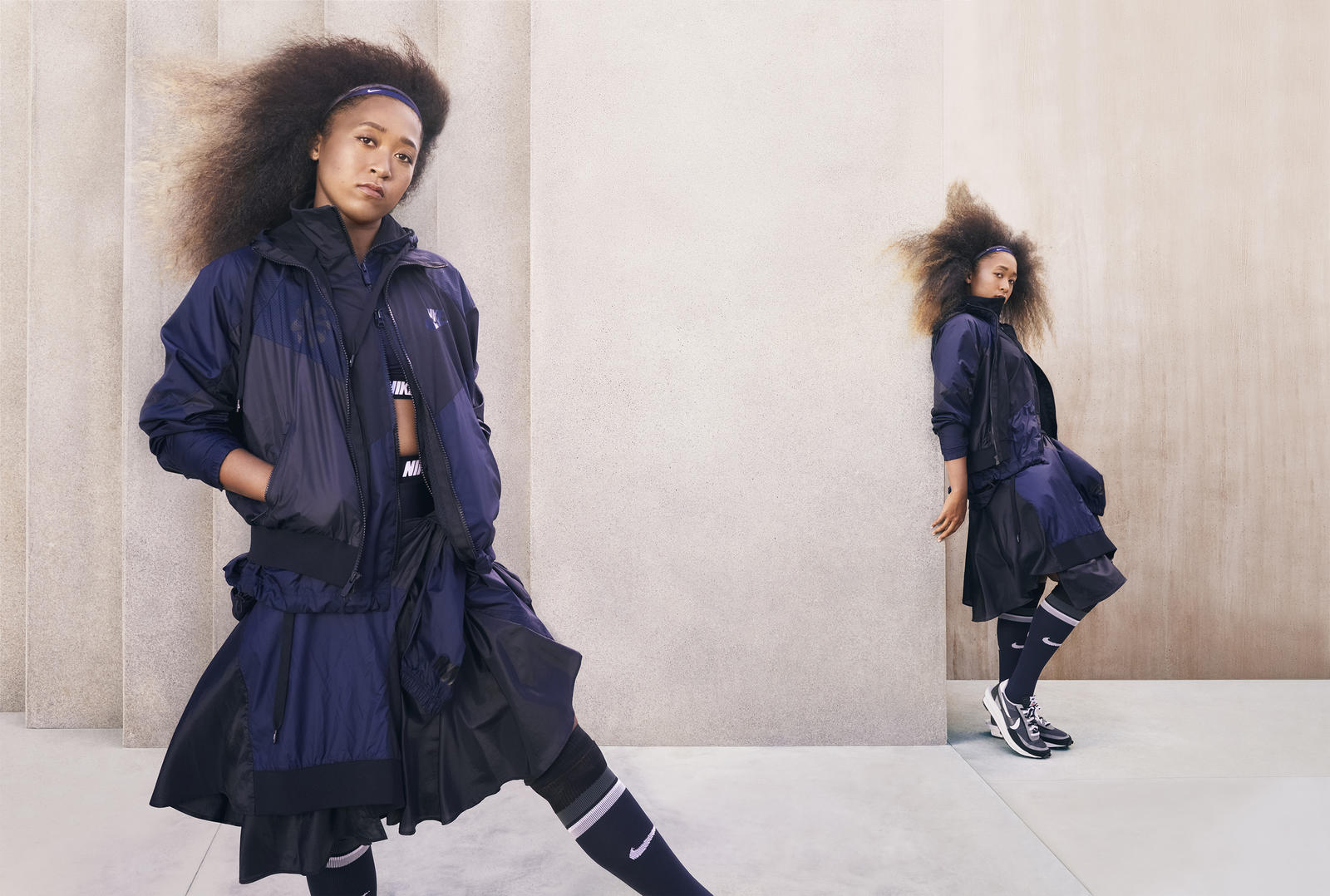 nike x sacai running apparel collection official images