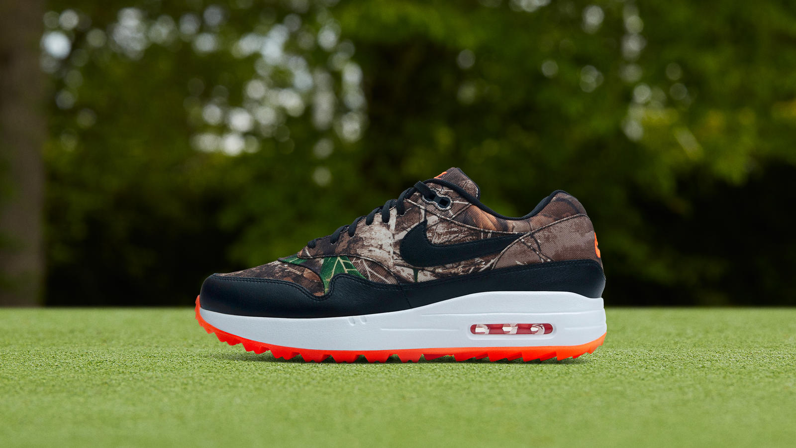Nike Air Max 1 Golf Realtree Official Images and Release