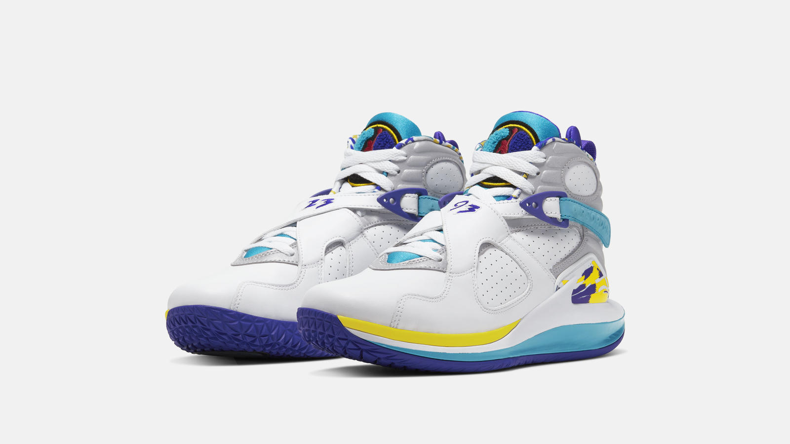 NikeCourt Air Zoom Zero x Air Jordan 8 Aqua Official Images and Release Date 1